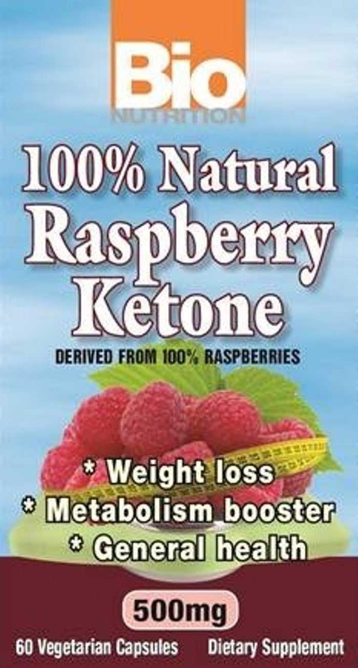 BIO NUTRITION INC, RASPBERRY KEYTONES,500MG, 60 VCAP by Bio Nutrition (Image #1)