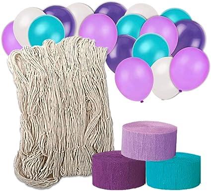 Amazon.com: Mermaid Party Supplies - Kit de decoración para ...