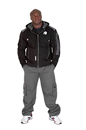 GORILLA WEAR Mens 82 Jacket Small Black