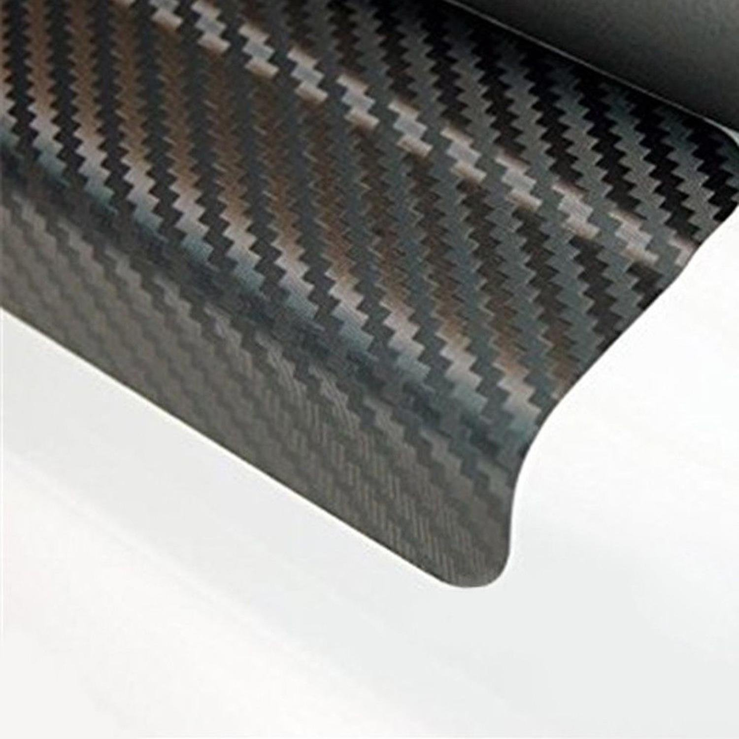 Babnane Car Door Sill Scuff Anti Scratch Carbon Fiber Stickers Car Protect Accessories Deca Protective Shields