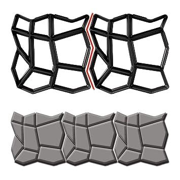 Betonform Schalungsform Gießform Plastikformen Diy Pflaster