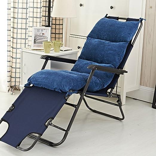 D&LE Color Puro Oficina Algodón Confort Cojin para Silla ...