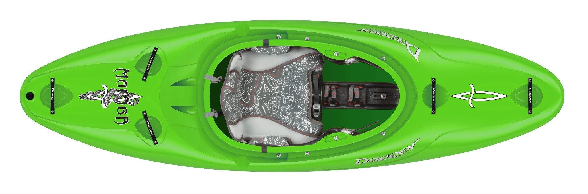 Dagger Mamba Versatile Whitewater Kayak - 7.6, Lime by Dagger