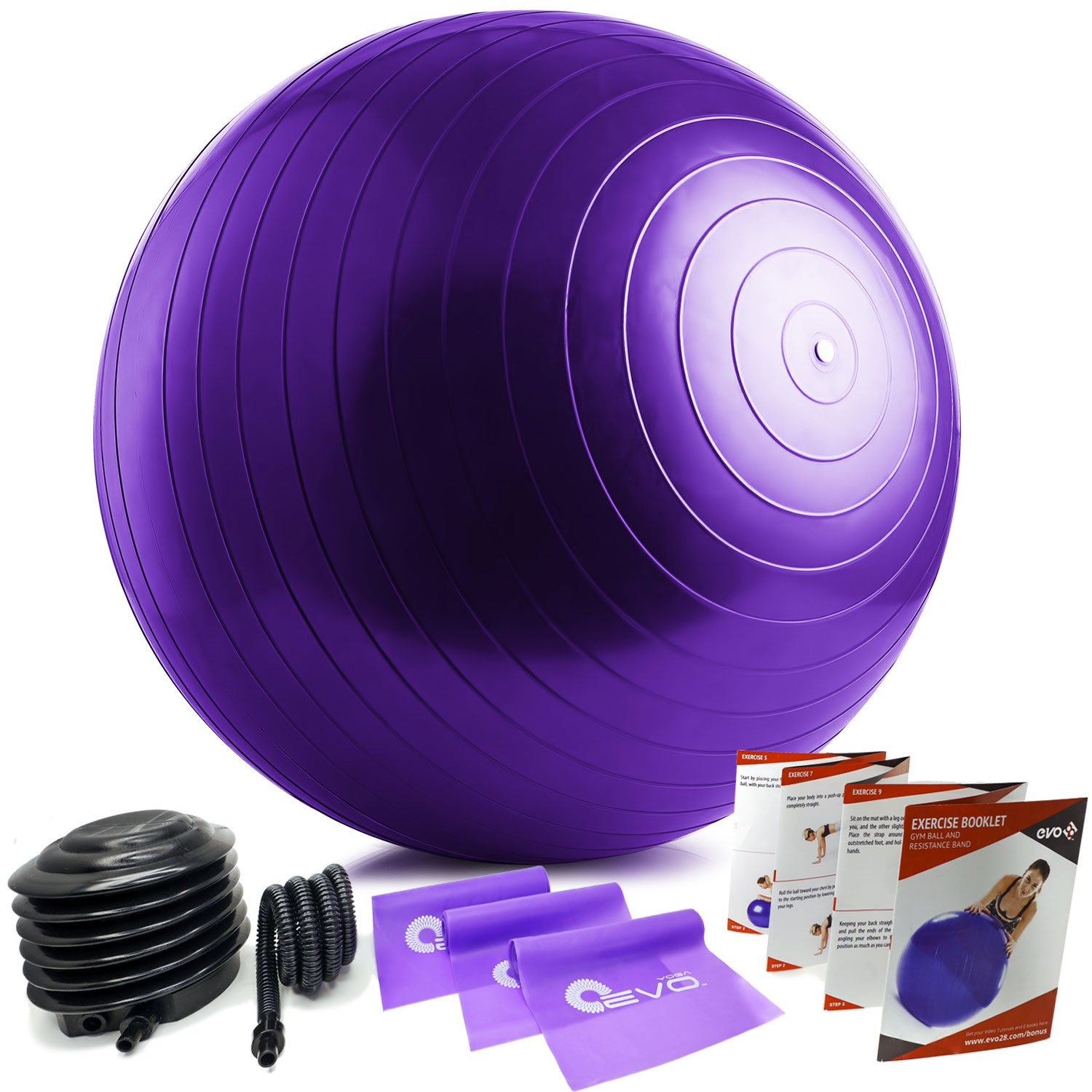 Yoga EVO Exersize Ball - Small Therapy Ball 65 cm