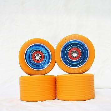 Z-FIRST Ruedas de repuesto para patines de 62 mm, aleación de aluminio,