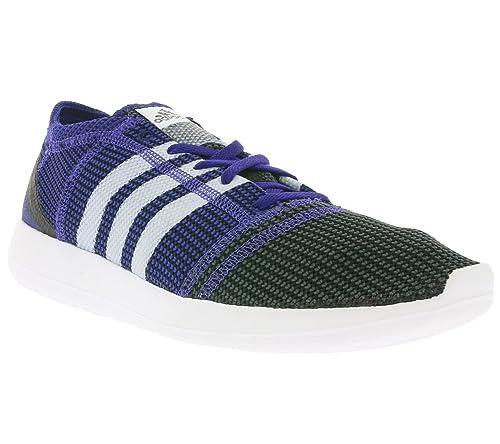 a4cc1ec7c4e Adidas Element Refine Tricot Trainers Blue  Amazon.co.uk  Shoes   Bags