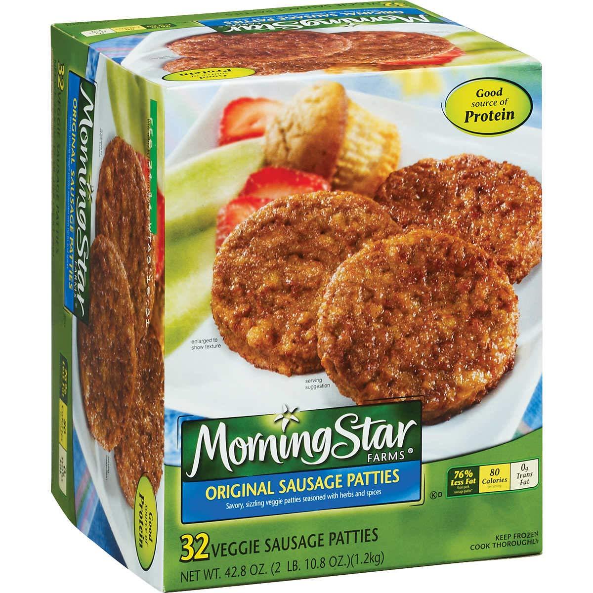 Morning Star Farms Original Veggie Sausage Patties (2 Pack) by Morningstar Farms (Image #1)