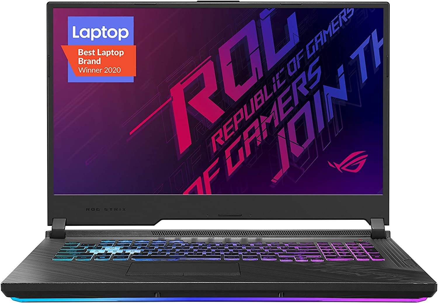 "ASUS ROG Strix G17 (2020) Gaming Laptop, 17.3"" 144Hz FHD IPS Type Display, NVIDIA GeForce RTX 2070, Intel Core i7-10750H, 16GB DDR4, 512GB PCIe NVMe SSD, RGB Keyboard, Windows 10, Black, G712LW-ES74"