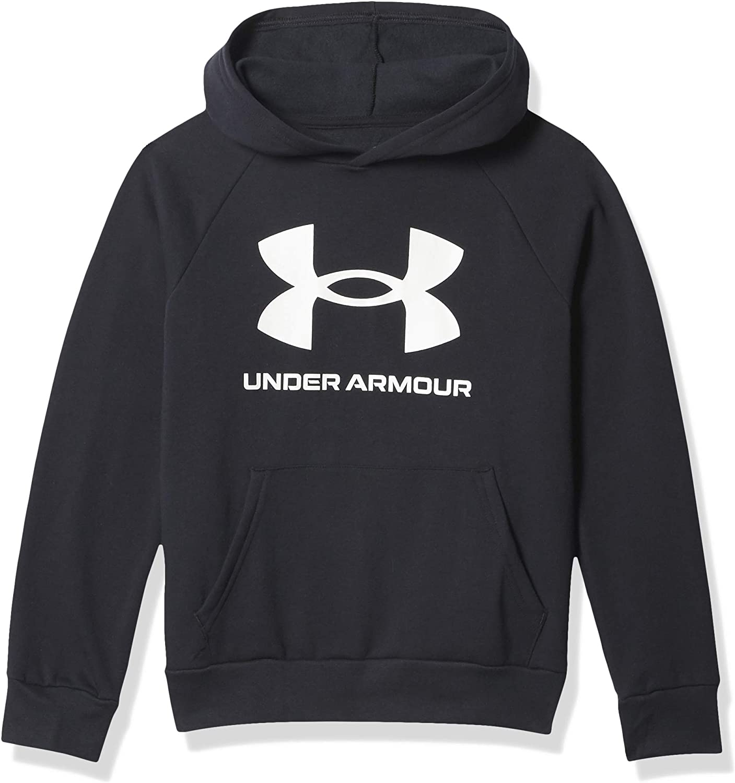 Under Armour boys Rival Fleece Hoodie: Clothing