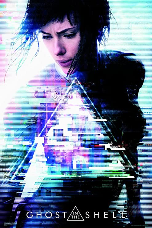 GHOST IN THE SHELL Anime Movie Canvas Poster Art Prints Decor 12x18 24x36 inch