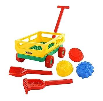 Polesie Polesie45690 No 481 - Juego de carritos de Juguete (6 Piezas): Amazon.es: Juguetes y juegos