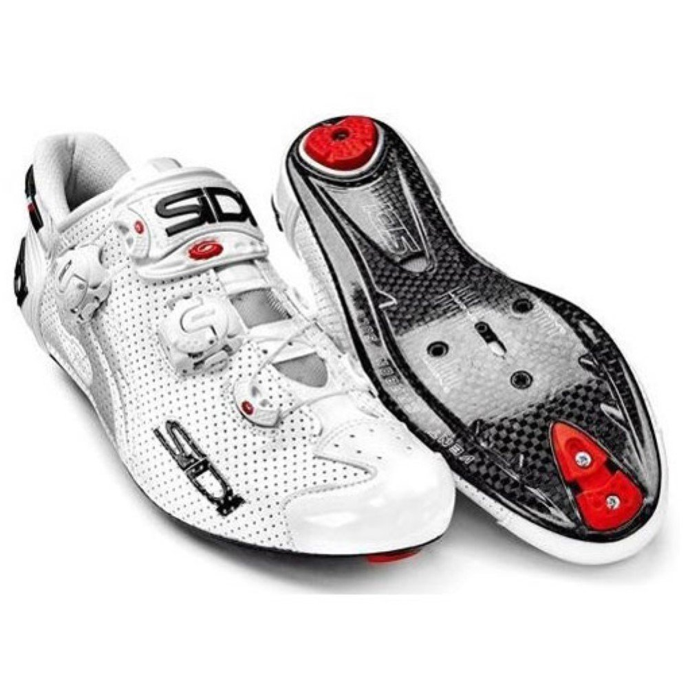 Amazon.com: Sidi Wire Carbon Air Vernice Road Shoes - 48: Sports ...
