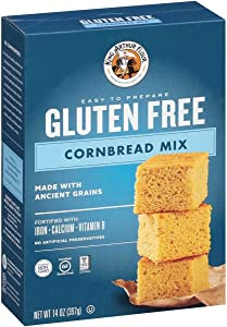 King Arthur Flour Mix,Gf Cornbread 14 Oz (Pack of 6)