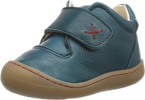 TALLA 24 EU. Pololo Primero Caribbean 7-50-737 - Zapatos para bebé de Cuero, Color Verde, Talla 19