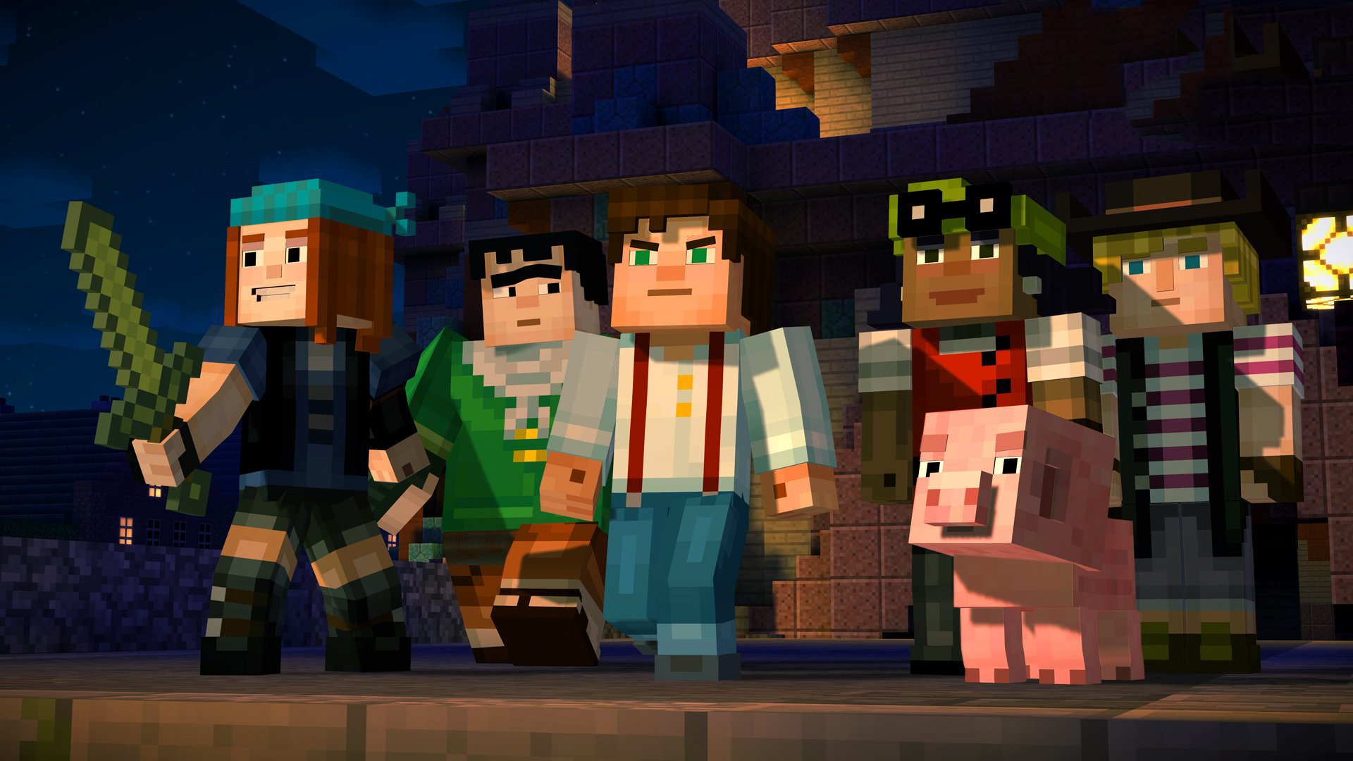 Amazon com: Minecraft: Story Mode - Season Disc