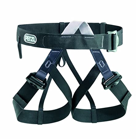 PETZL – PANDION, Basic Adjustable Harness, OSFA-Black