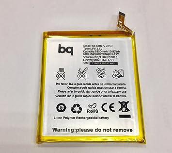 androgeek_es Batería BQ Aquaris E5 4G 2850Mha + Kit de Herramientas. Enviamos desde España.: Amazon.es: Electrónica