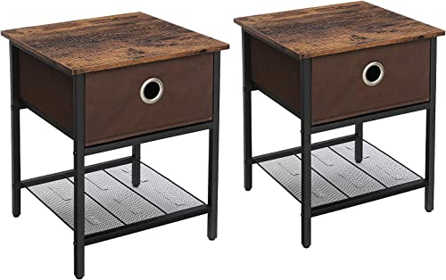 VASAGLE End Tables Nightstand