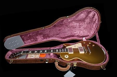Gibson Les Paul Custom Shop 1957 VOS - Pala de madera de palisandro brasileño con funda rígida (60 V2): Amazon.es: Instrumentos musicales