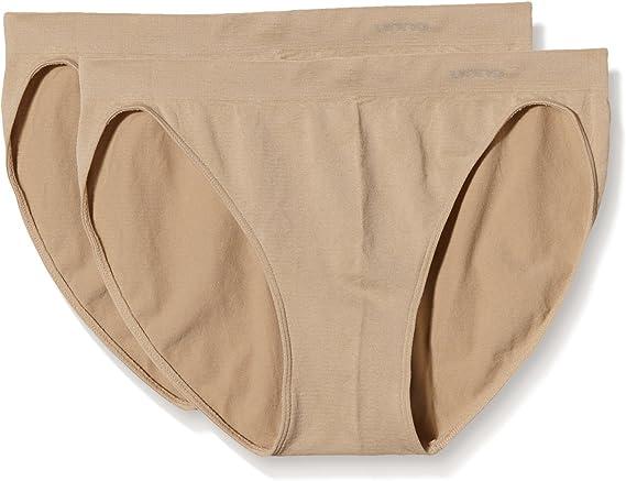UNNO Auum301, Braguitas Bikini, Costuras Microfibra, Para Mujer, Pack de 2: Amazon.es: Ropa y accesorios