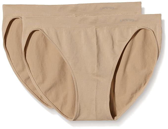 UNNO Auum301, Braguitas Bikini, Costuras Microfibra, Para Mujer, Pack de 2,