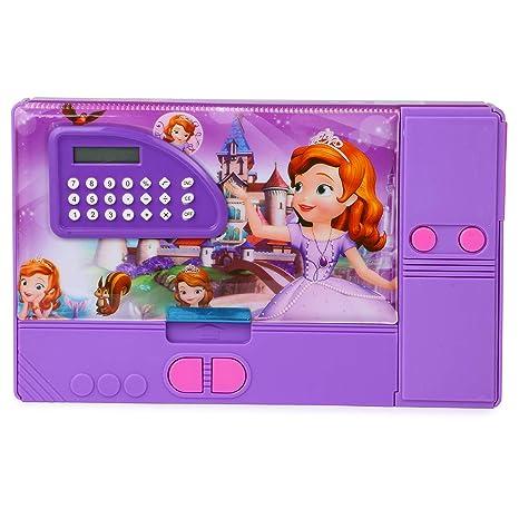 Toys   Gifts Depot Princess Sofia Jumbo Magnetic Pencil Box with ... f13df6590f70e