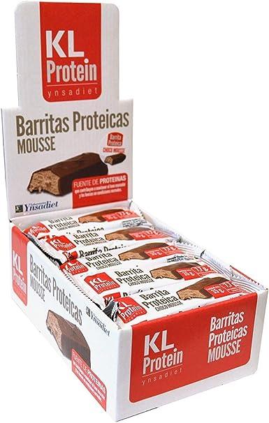 KL PROTEIN Barritas Proteicas y Energéticas, Sabor ...