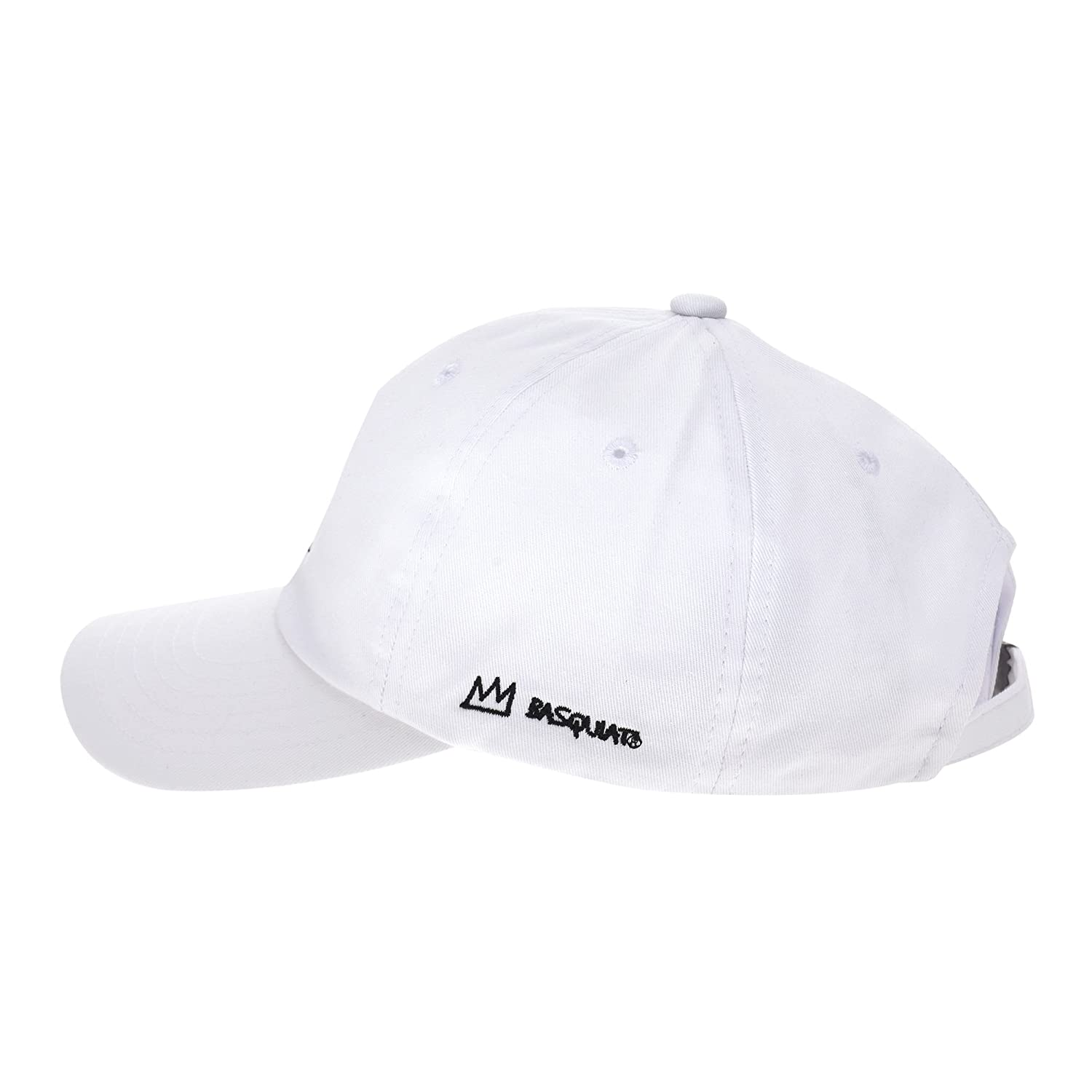 226780fe848 WITHMOONS Baseball Cap Jean-Michel Basquiat Statue of Liberty Embroidery  CR1702 (White)  Amazon.ca  Clothing   Accessories