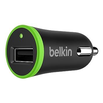 Belkin F8J014btBLK - Cargador de móvil para el Coche, para iPhone 8/8+ y iPhone X, Color Negro