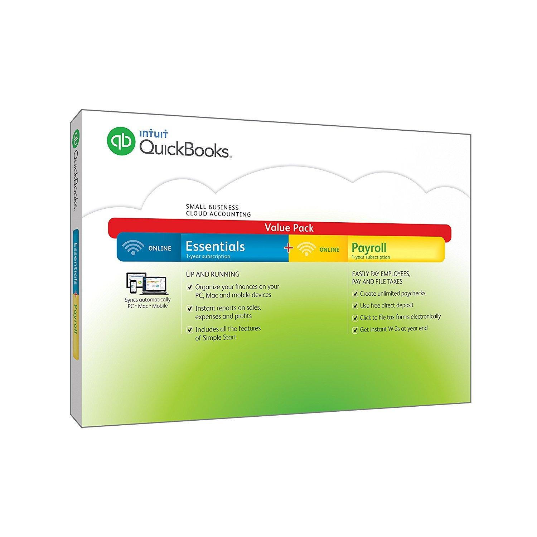 Intuit 426332 QuickBooks Essentials W /給与計算 B015MVOII6