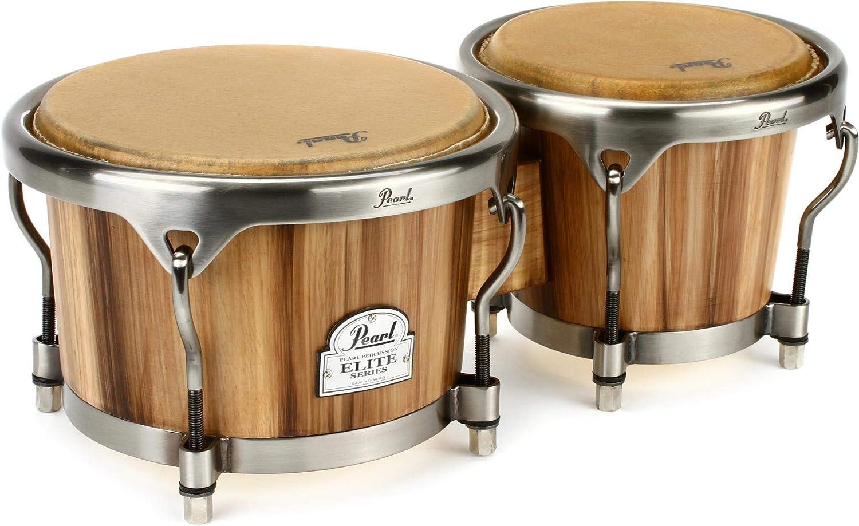 Pearl Elite Series Oak Bongos 7 and 9