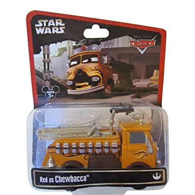 Disney Star Wars Pixar Cars Series 2 Red the Fire Engine as Chewbacca 1/55 Die-Cast - Theme Park Exclusive Limited Edition: Toys & Games