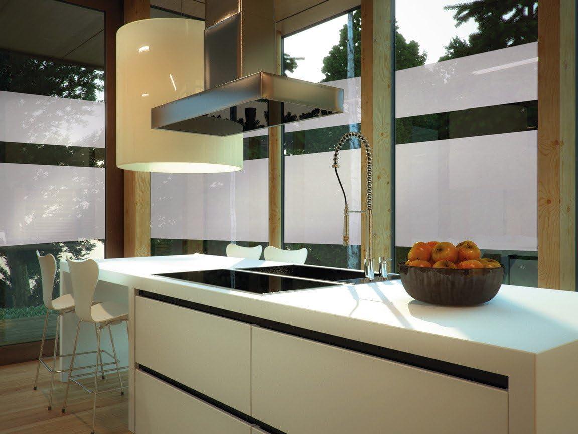 D-C-FIX MILKY GLASS SELF ADHESIVE VINYL 45cm X 2m ROLL / STICKY BACK PLASTIC / FABLON by d-c-fix®: Amazon.es: Hogar