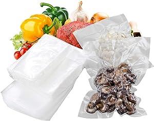 Lawei 300 Counts Vacuum Sealer Bags - 6 x 10 Inch Food Saver Bags Pint Size Vacuum Food Storage Bags for Food Saver, Sous Vide