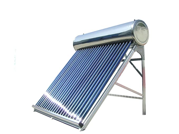 V-Guard 500-Watt Silicone Solar Water Heater (Silver & Blue)