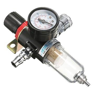 MASUNN Afr-2000 1/4 Compresor De Aire Filtro Separador De Agua Trampa Herramientas