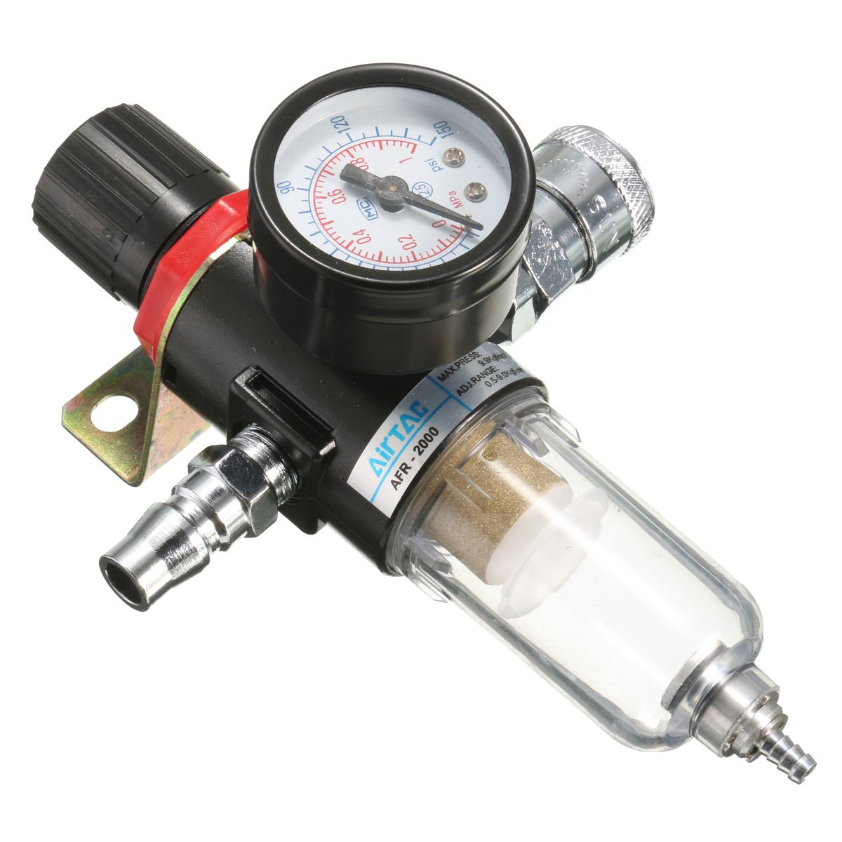 QOJA afr-2000 1/4'' air compressor filter water separator trap by QOJA (Image #4)