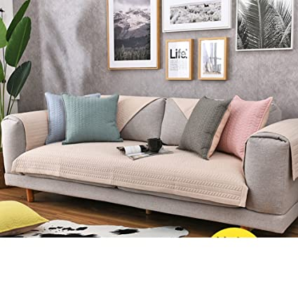Sensational Amazon Com Kfhiwuehpjhd Solid Color Cotton Slipcover Sofa Dailytribune Chair Design For Home Dailytribuneorg