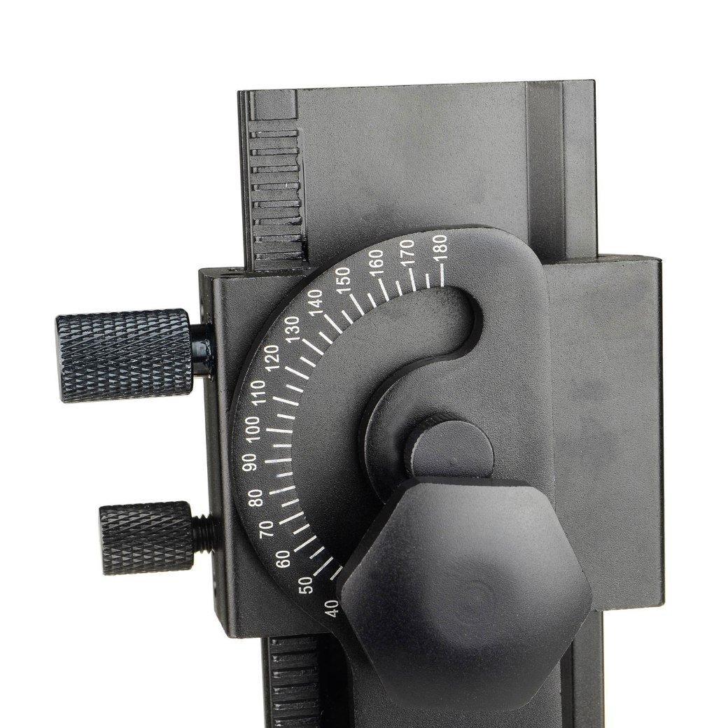 DSLRKIT 360° giratoria rotador Indexación Panorámica + 2 Camino del carril deslizante + Juego de L Soporte