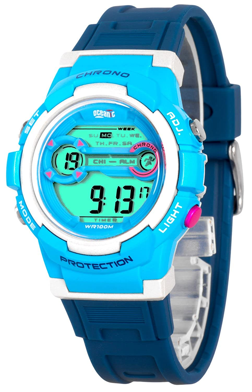 Multifuncional Reloj Oceanic para Niños,Retroiluminación,3x ...