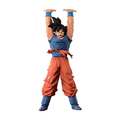 "Banpresto Dragon Ball Super 7.9"" Son Goku Figure, Give Me Energy, Spirit Bomb Special: Toys & Games"