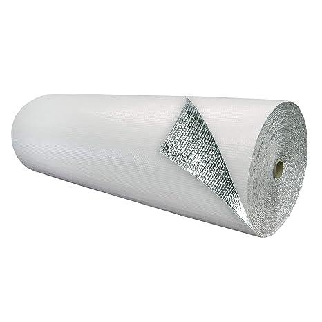 Amazon.com: Doble Burbuja Foil/Aislamiento 750 S.F Blanco ...