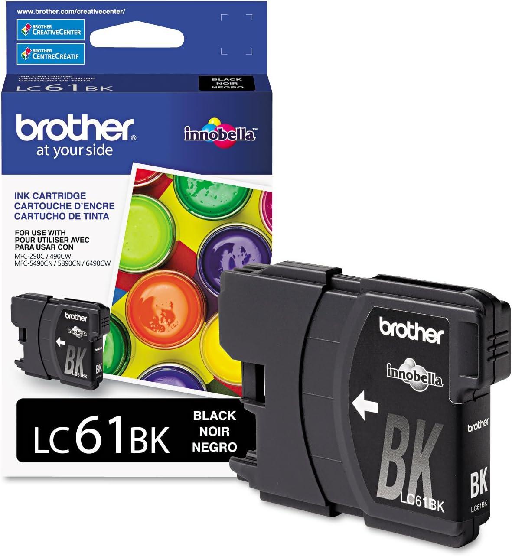 Brother LC-61BK Ink Cartridge 1 Pack Black