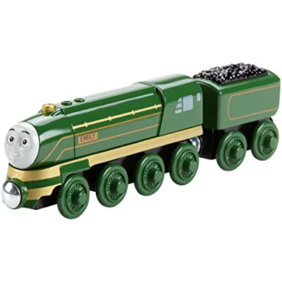 Fisher-Price Thomas & Friends Wooden Railway, Streamlined Emily: Toys & Games