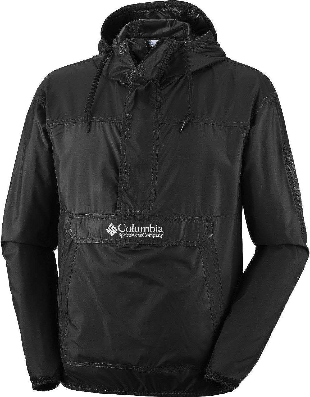 Columbia Men's Challenger Hooded Windbreaker, Water Repellent: Clothing
