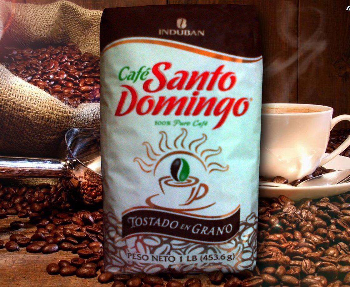 Santo Domingo Roasted Whole Bean Coffee 1 Pound Bag