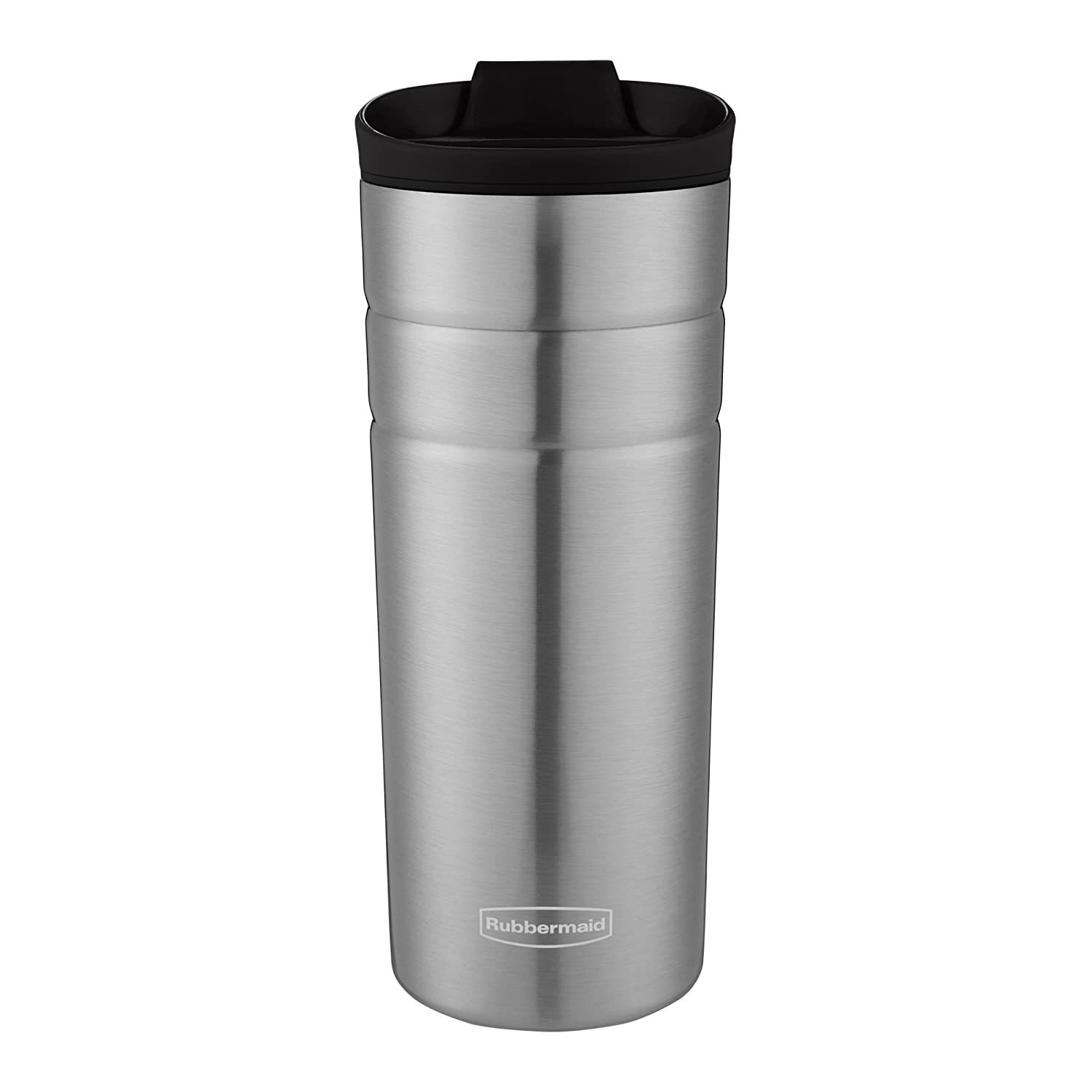 Rubbermaid Leak Proof Flip Lid Thermal Bottle, 16 oz., Black
