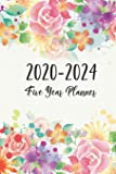 2020-2024 Five Year Planner: Flower Cover - 2020 - 2024 Monthly Schedule Organizer - 60 Month Yearly Planner Agenda Planner for the Next Five Years - ... Appointment Notebook with Holidays USA