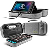 tomtoc Carrying Case for Nintendo Switch, Portable Travel Carry Storage Case Compatible with Switch Console, Pro…