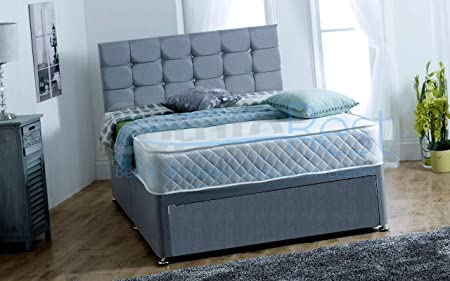 ComfoRest 4FT6 Double Divan Bed - Foot Jambo Drawer